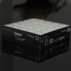 50x Teelicht NIGHTLIGHT | Allgäu Deko