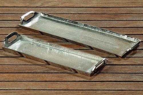 Tablett aus Aluminium | Allgäu Deko