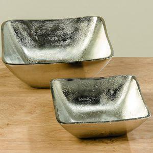 Dekoschale aus Aluminium | Allgäu Deko
