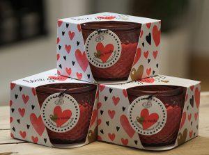 Love You Teelicht   Allgäu Deko