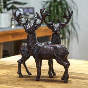 Hirsch aus Gusseisen | Allgäu Deko