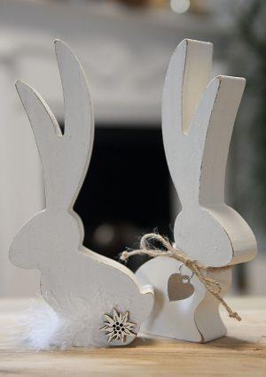 Langohr Osterhase aus Holz | Allgäu Deko