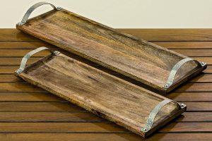 Tablett aus Holz | Allgäu Deko