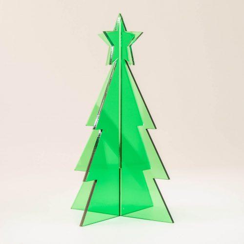 3D Weihnachtsbaum Tannenbaum Acryl | Allgäu Deko