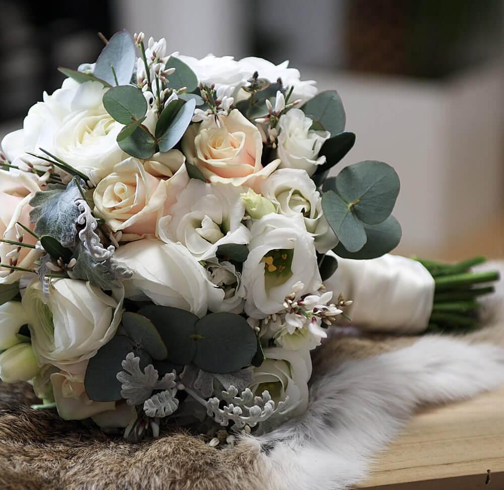 Brautstrauß herbstlich | Allgäu Deko