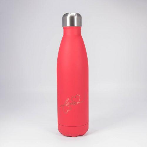 Isolierflasche rot love | Allgäu Deko