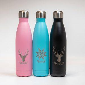 Isolierflasche aus Edelstahl | Allgäu Deko