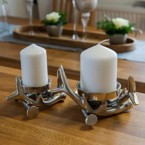 Kerzenhalter Geweih | Allgäu Deko