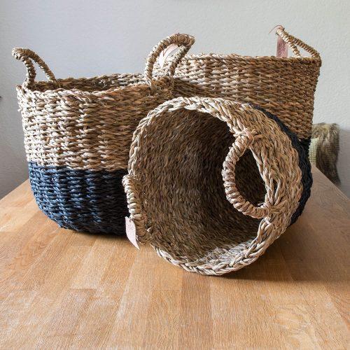 Korb aus Seegras | Allgäu Deko