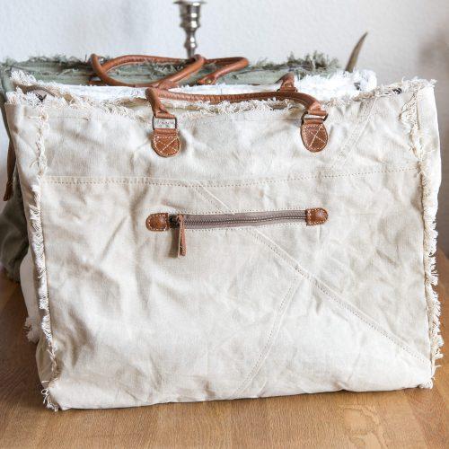 SEL de MER Tasche back aus Leinen und Leder | Allgäu Deko