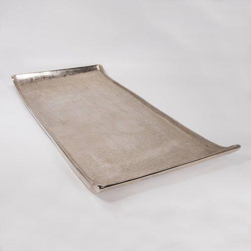 Tablett Aluminium ohne Griff groß | Allgäu Deko