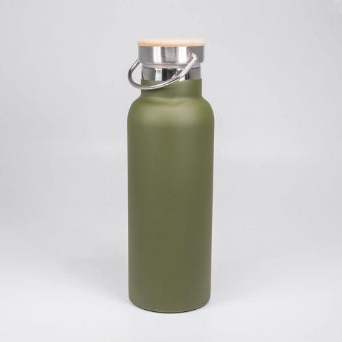 Trinkflasche Helsinki oliv-grün   Allgäu Deko