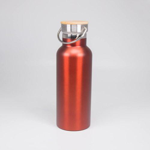 Trinkflasche Helsinki rot-metallic   Allgäu Deko