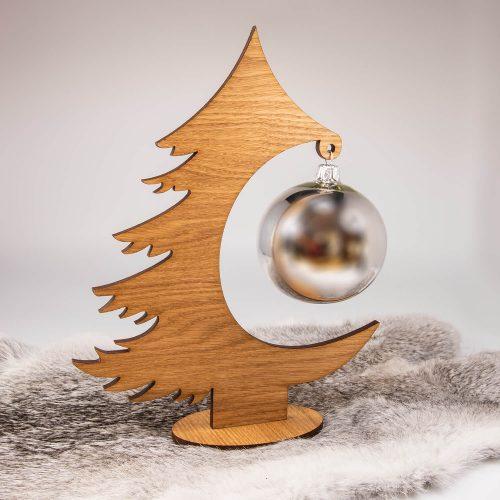 Weihnachtsbaum aus Holz Eiche | Allgäu Deko