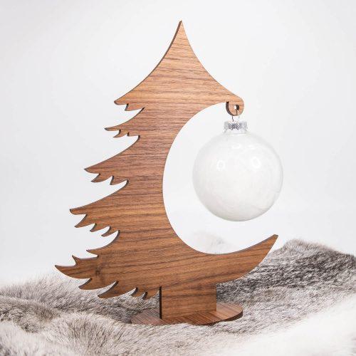 Weihnachtsbaum aus Nuss | Allgäu Deko