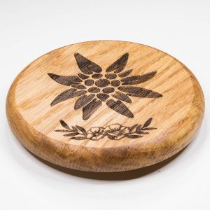 Bierdeckel aus Holz | Allgäu Deko