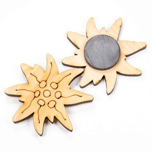 Figuren aus Holz mit Magnet | Allgäu Deko