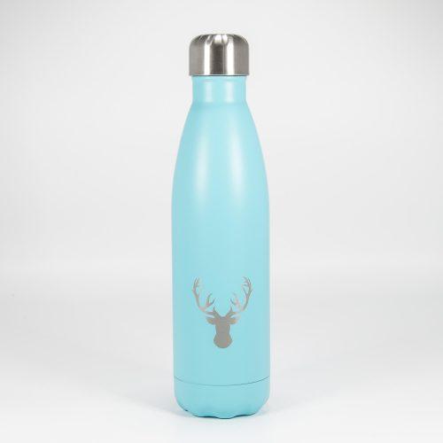 Isolierflasche mint Hirschkopf | Allgäu Deko