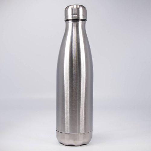 Isolierflasche edelstahl-silber | Allgäu Deko